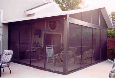 Midstate Construction Screen Rooms. Pocket Screen Doors Open Wide For Easy  Access! Great For Parties.